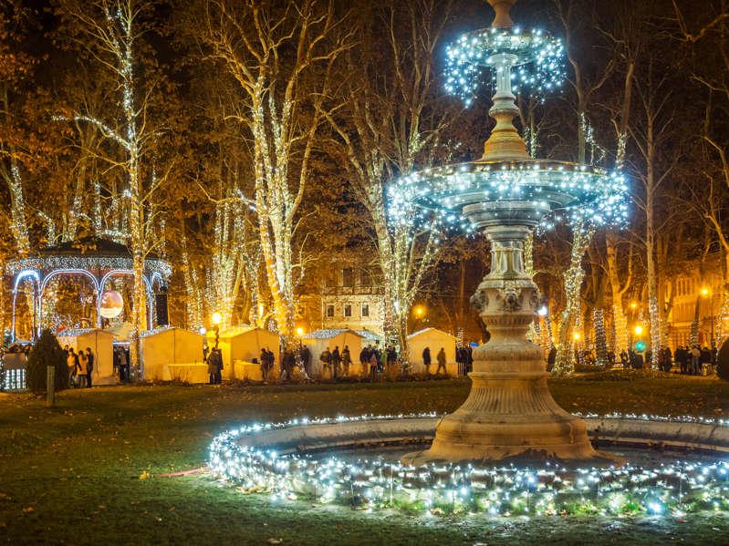Adventmarkt in Zagreb