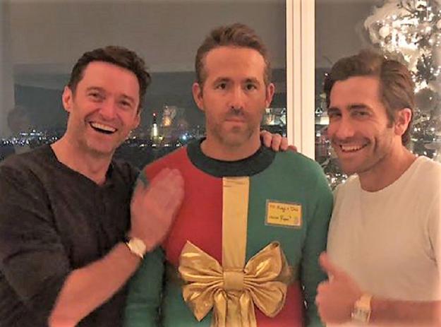 Hugh Jackman And Jake Gyllenhaal Trick Ryan Reynolds Into Wearing