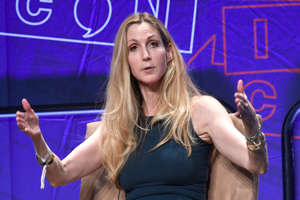 FILE: LOS ANGELES, CA - OCTOBER 20:  Ann Coulter speaks onstage at Politicon 2018 at Los Angeles Convention Center on October 20, 2018 in Los Angeles, California.  (Photo by Michael S. Schwartz/Getty Images)