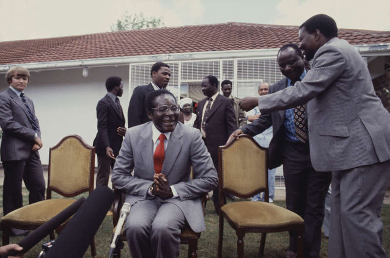 File picture of former Zimbabwe President Robert Mugabe