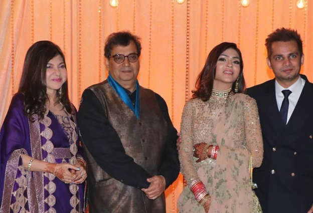 Govinda Anup Jalota Attend Alka Yagniks Daughters Wedding