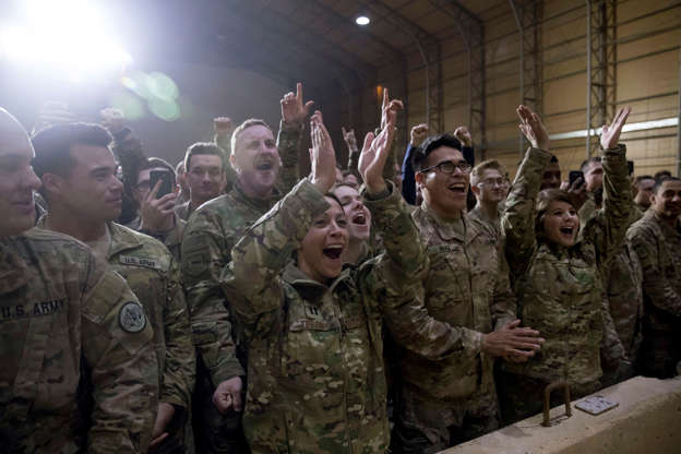 Trump in Iraq on first visit to troops in troubled region  52 mins ago  Indonesia says avoid coast near volcano, fearing new tsunami   Trek into Congo Forest Reveals Ebola Crisis Fueled by Violence   Slide 1 of 11: US President Donald Trump and First Lad BBRsYS2