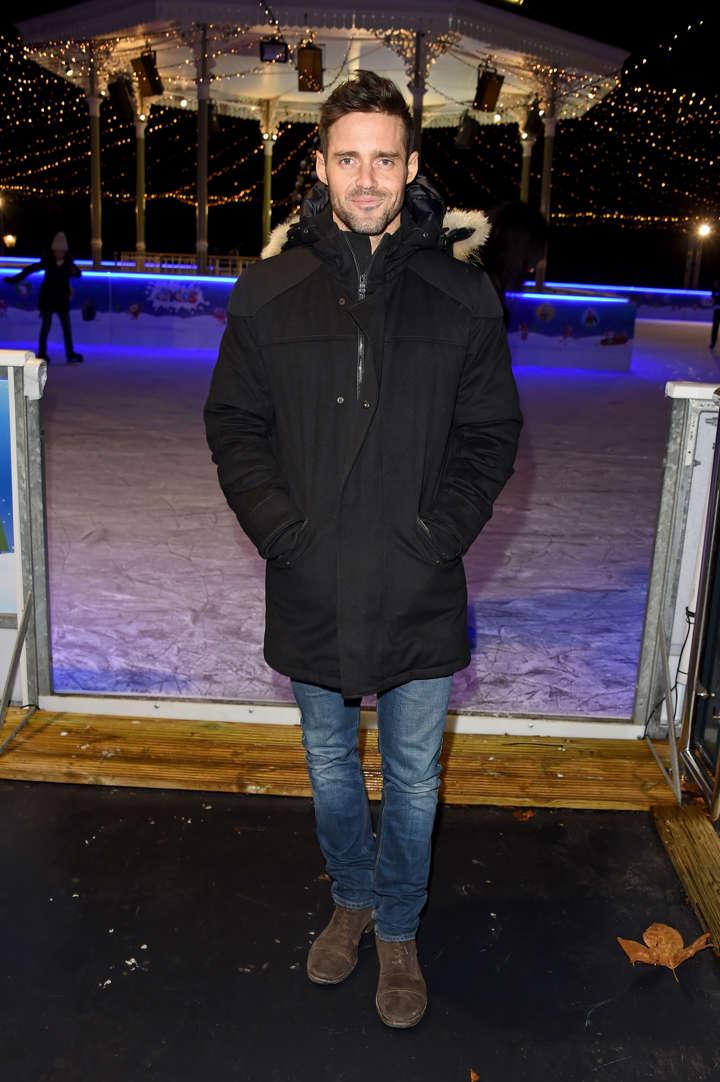 483f6b04805bd4 Spencer Matthews attends the VIP preview night for Hyde Park Winter  Wonderland on November 21,