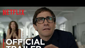 a close up of a man: All art is dangerous. Watch #VelvetBuzzsaw on #Netflix February 1, 2019.  Velvet Buzzsaw is a thriller set in the contemporary art world scene of Los Angeles where big money artists and mega-collectors pay a high price when art collides with commerce. Jake Gyllenhaal, Rene Russo, Toni Collette, Zawe Ashton, Tom Sturridge, Natalia Dyer, Daveed Diggs, Billy Magnussen, and John Malkovich star in the new mind-bending film written and directed by Dan Gilroy.  Watch Velvet Buzzsaw on Netflix:  http://netflix.com/velvetbuzzsaw  #Netflix #VelvetBuzzsaw #JakeGyllenhaal SUBSCRIBE: http://bit.ly/29qBUt7  About Netflix: Netflix is the world's leading internet entertainment service with 130 million memberships in over 190 countries enjoying TV series, documentaries and feature films across a wide variety of genres and languages. Members can watch as much as they want, anytime, anywhere, on any internet-connected screen. Members can play, pause and resume watching, all without commercials or commitments.  Connect with Netflix Online: Visit Netflix WEBSITE: http://nflx.it/29BcWb5 Like Netflix Kids on FACEBOOK: http://bit.ly/NetflixFamily Like Netflix on FACEBOOK: http://bit.ly/29kkAtN Follow Netflix on TWITTER: http://bit.ly/29gswqd Follow Netflix on INSTAGRAM: http://bit.ly/29oO4UP Follow Netflix on TUMBLR: http://bit.ly/29kkemT  Velvet Buzzsaw | Official Trailer [HD] | Netflix http://youtube.com/netflix