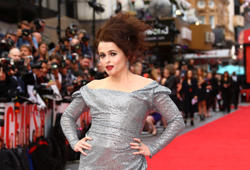 Actress Helena Bonham-Carter poses for photographers upon arrival at the premiere of the film 'Ocean's 8' in central London, Wednesday, June 13, 2018. (Photo by Joel C Ryan/Invision/AP)