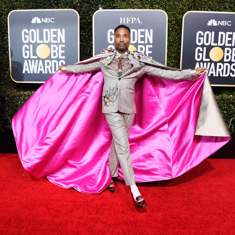 Billy Porter attends the 76th Annual Golden Globe Awards at The Beverly Hilton Hotel on January 6, 2019 in Beverly Hills, California.