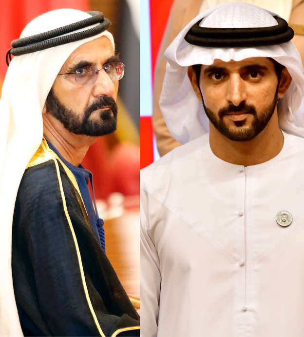 Sheikh Hamdan's emotional response to father's note, new book