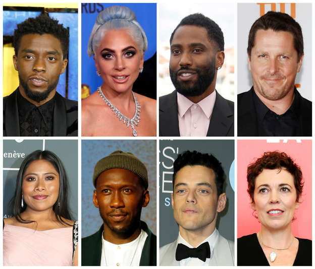 2019 Oscars See The Full List Of Nominees