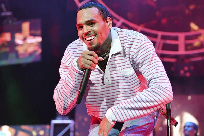 Chris Brown se apresenta no 2018 BET Experience Staples Center Concert, patrocinado pela COCA-COLA, no L.A. Live – 22/06/2018