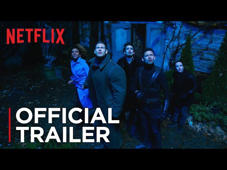 a group of people standing in front of a sign: When it rains, it pours.   From the minds of Gerard Way and Gabriel Bá, The Umbrella Academy is the story of a super-dysfunctional family of superheroes who have eight days to get it together and save the world.  Watch The Umbrella Academy on Netflix:  https://www.netflix.com/in/title/80186863  #Netflix #TheUmbrellaAcademy #EllenPage SUBSCRIBE: http://bit.ly/29qBUt7  About Netflix: Netflix is the world's leading internet entertainment service with 130 million memberships in over 190 countries enjoying TV series, documentaries and feature films across a wide variety of genres and languages. Members can watch as much as they want, anytime, anywhere, on any internet-connected screen. Members can play, pause and resume watching, all without commercials or commitments.  Connect with Netflix Online: Visit Netflix WEBSITE: http://nflx.it/29BcWb5 Like Netflix Kids on FACEBOOK: http://bit.ly/NetflixFamily Like Netflix on FACEBOOK: http://bit.ly/29kkAtN Follow Netflix on TWITTER: http://bit.ly/29gswqd Follow Netflix on INSTAGRAM: http://bit.ly/29oO4UP Follow Netflix on TUMBLR: http://bit.ly/29kkemT  The Umbrella Academy | Official Trailer [HD] | Netflix  http://youtube.com/netflix