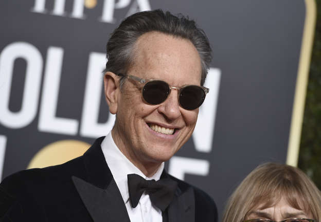 bc92e7bb3b3 Richard E. Grant arrives at the 76th annual Golden Globe Awards at the  Beverly Hilton