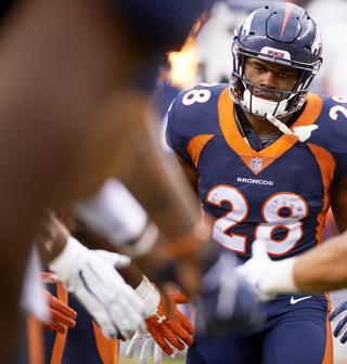 reputable site c7d7f dff07 Royce Freeman #28 News, Stats, Photos - Denver Broncos - NFL ...