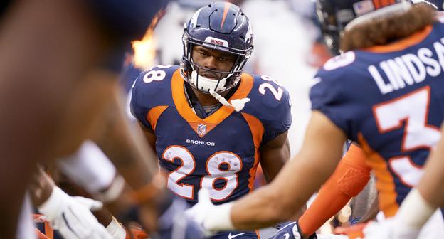 reputable site 4ddba f2e7e Royce Freeman #28 News, Stats, Photos - Denver Broncos - NFL ...