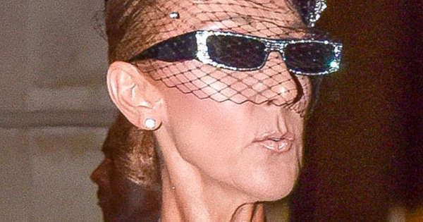 e450aa61b80a Celine Dion continues to reign couture fashion week in Alexandre Vauthier  Jumpsuit