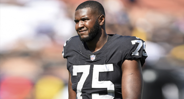 competitive price c95f1 ef54b Brandon Parker #75 News, Stats, Photos - Oakland Raiders ...