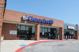 Exterior of Goodwill store in Conyers, Ga.