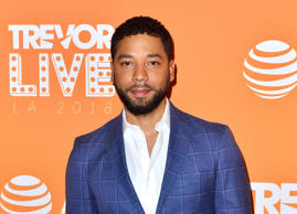 Jussie Smollett attends the Trevor Project's TrevorLIVE LA 2018 at The Beverly Hilton Hotel on December 3, 2018 in Beverly Hills, California.