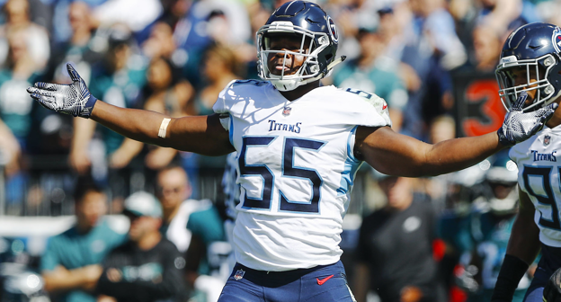 quality design 5a133 e73cb Jayon Brown #55 News, Stats, Photos - Tennessee Titans - NFL ...