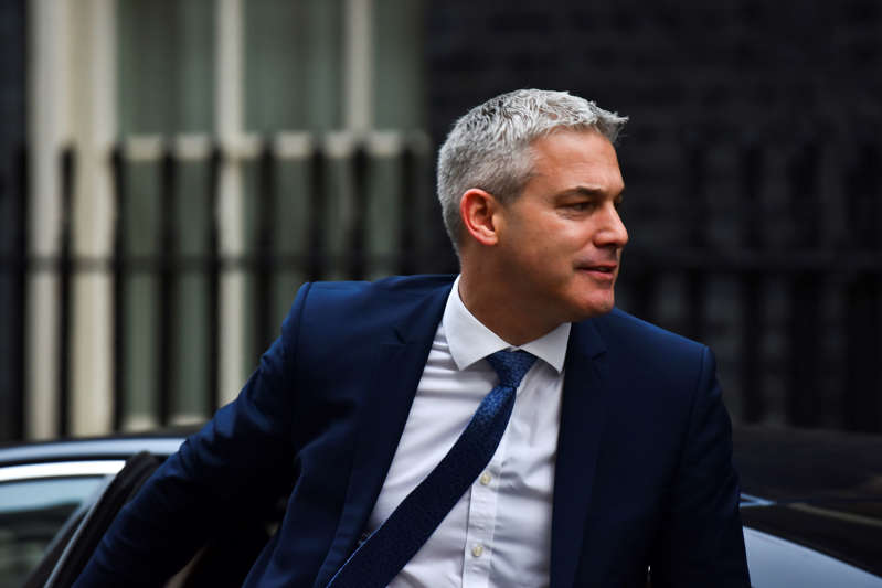 Brexit Secretary Stephen Barclay at 10 Downing Street