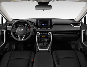 2019 Toyota Rav4 Xle Fwd Interior Photos Msn Autos