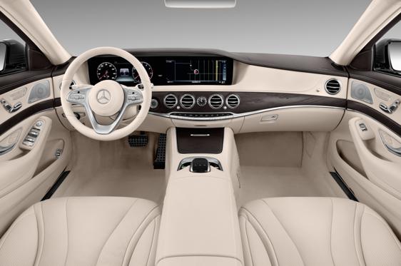 2018 Mercedes Benz S Class Maybach S650 Interior Photos Msn Autos