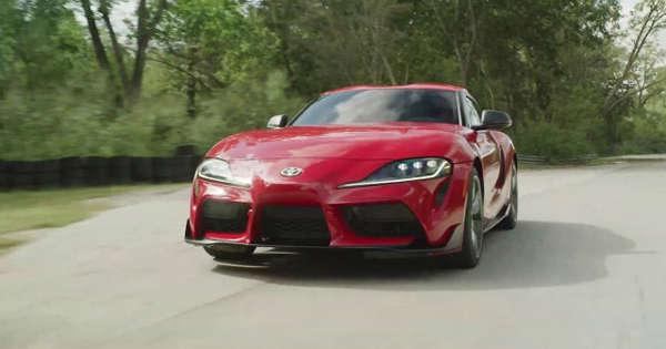 6d5742edfbe4 2020 Toyota Supra video debut
