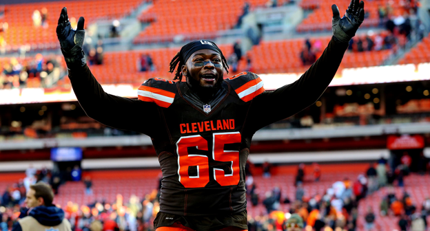 new styles 704c8 165c2 Larry Ogunjobi #65 News, Stats, Photos - Cleveland Browns ...