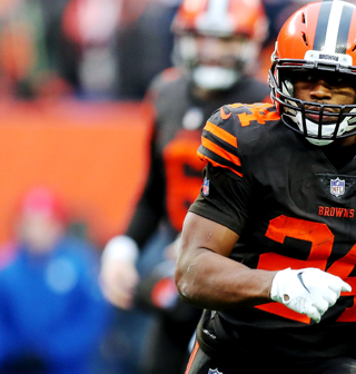 buy popular d618d f5da9 Nick Chubb #24 News, Stats, Photos - Cleveland Browns - NFL ...