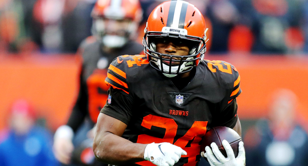 buy popular 491ed e1774 Nick Chubb #24 News, Stats, Photos - Cleveland Browns - NFL ...