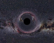 Photograph of a black hole in the milky way. Dated 2014. (Photo by: Photo 12/UIG via Getty Images)