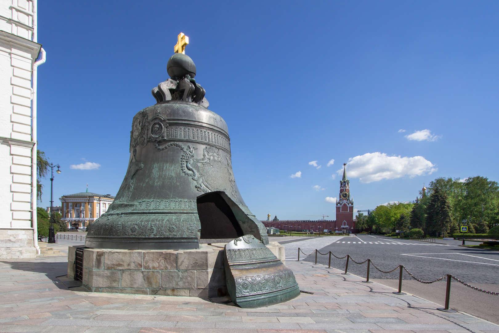 Tsar Kolokol, Moscow, Rusia (183.254 kg)