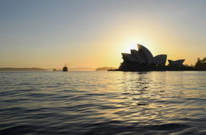 FILE PHOTO SYDNEY, AUSTRALIA - JANUARY 05: The Opera House during sunrise as early morning temperatures hit 30 degrees celcius on January 05, 2019 in Sydney, Australia. High temperatures continued in Sydney today as much of Australia experienced heatwave conditions and December statistics now in revealed the hottest December period on record for maximum temperatures. (Photo by James D. Morgan/Getty Images)