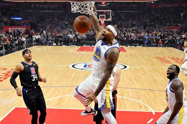 Warriors beat Clippers 112-94  Boogie fouls out of debut 0ef2a35a6