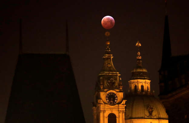 Where YOU can catch a glimpse of the lunar eclipse: Millions of