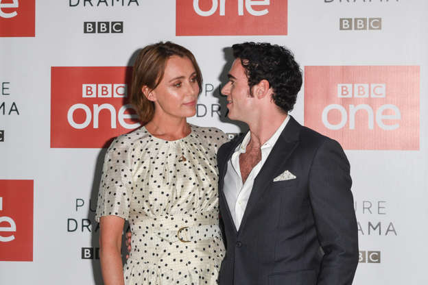 fbb90dbbb0bd96 LONDON, ENGLAND - AUGUST 06  Keeley Hawes and Richard Madden during a  photocall for