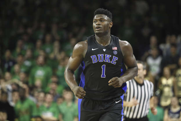 Scottie Pippen Calls Dukes Zion Williamson The Best Nba Prospect