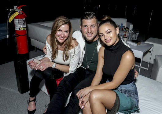 Slide 1 of 59: ATLANTA, GA - FEBRUARY 02:  Tim Tebow and Demi-Leigh Nel-Peters attend DIRECTV Super Saturday Night 2019 at Atlantic Station on February 2, 2019 in Atlanta, Georgia.