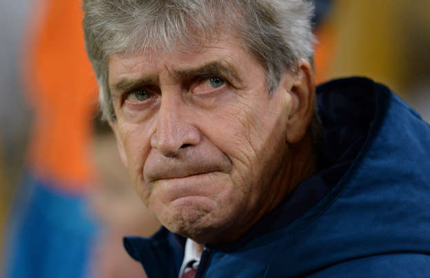 545cc6b05e7 West Ham manager Manuel Pellegrini feels former side Man City s cup  exploits will cost them the Premier League title
