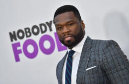 US rapper 50 Cent attends the New York premiere of 'Nobody's Fool' at AMC Lincoln Square Theater on October 28, 2018 in New York City. (Photo by Angela Weiss / AFP)        (Photo credit should read ANGELA WEISS/AFP/Getty Images)