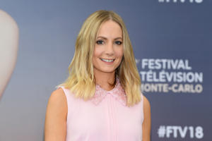 MONTE-CARLO, MONACO - JUNE 18:  Joanne Froggatt of the serie 'Liar' attends a photocall during the 58th Monte Carlo TV Festival on June 18, 2018 in Monte-Carlo, Monaco.  (Photo by Pascal Le Segretain/Getty Images)