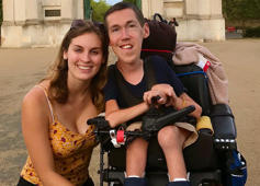 YouTube couple sheds light on misconceptions of dating with disabilities