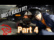 Hellcat swapping A miata! (Part 4)  In this video we test fit the steering rack, and look into making more room in the engine bay for the engine position!   We find out we need allot more room for things to be how i want it.  And make some cuts. We are waiting on the oil pan to come in the mail as well as some other parts.   Cross member was purchased at retail price from www.v8raodsters.com  #hellcatmiata #smashthatlike #clicksubscribe