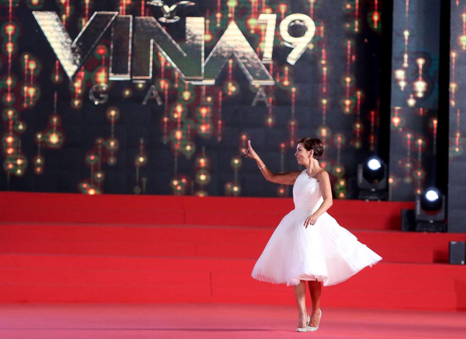 8b475f544 La alfombra roja de la Gala del Festival de Viña 2019