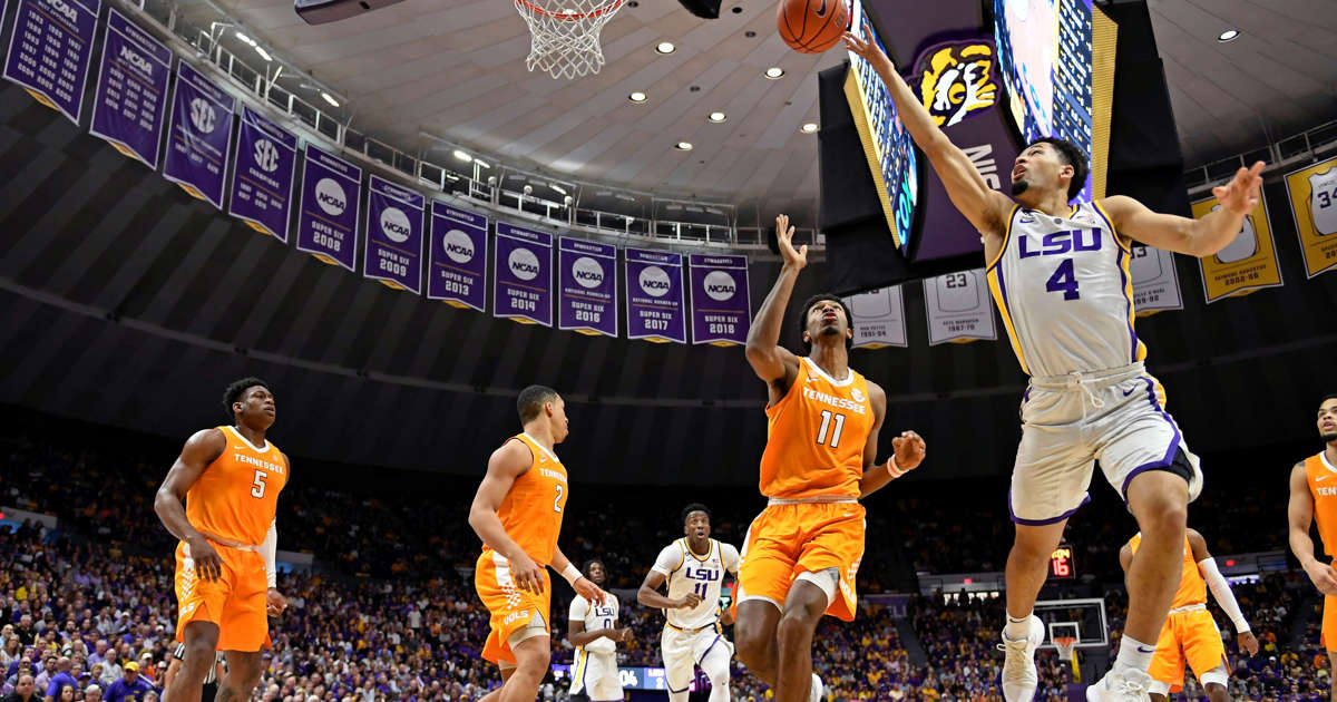 Smart leads No  13 LSU past No  5 Tennessee in OT, 80-82