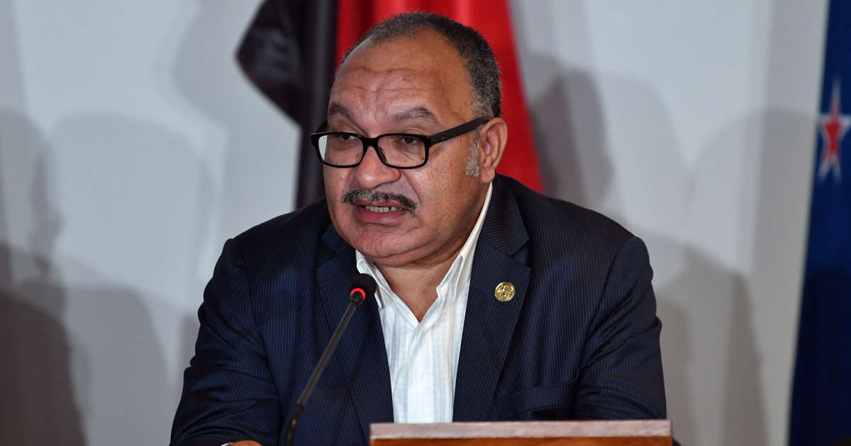 PNG PM avoids confidence vote for time being
