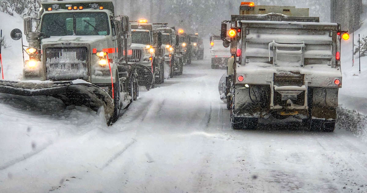 Pineapple Express' storm douses California with rain, snow