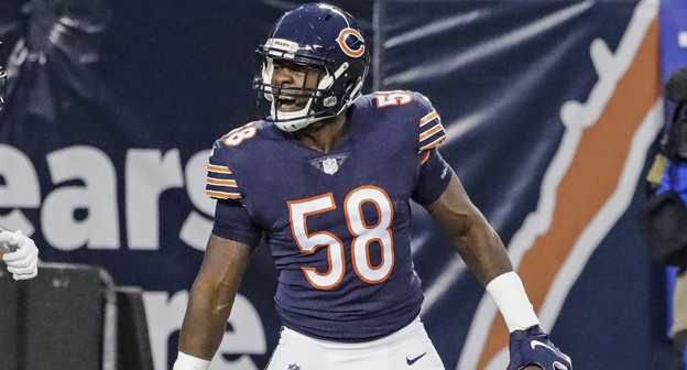 new style e364f 3bc63 Roquan Smith #58 News, Stats, Photos - Chicago Bears - NFL ...
