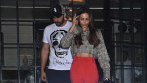 Arjun Kapoor, Malaika Arora spotted together