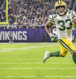 Aaron Jones 33 News Stats Photos Green Bay Packers Nfl Msn Sports