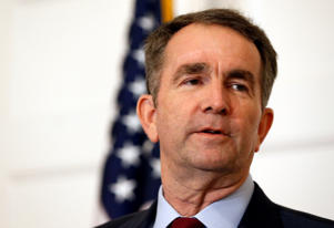 In this Feb. 2, 2019 file photo, Virginia Gov. Ralph Northam speaks during a news conference in the Governor's Mansion in Richmond, Va. Northam clung to his office Tuesday, Feb. 5, amid intense political fallout over a racist photo in his 1984 medical school yearbook and uncertainty about the future of the state's government.
